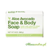 Avocado Face & Body Soap - mydło do ciała i twarzy