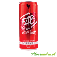 FAB Forever Active Boost - napój energetyczny z guaraną