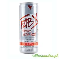 FAB X Forever Active Boost X- napój energetyczny bez cukru i kalorii
