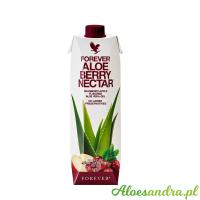 Forever Aloe Berry Nectar - żurawiowy sok aloesowy z wit. C