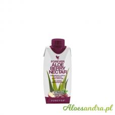 Forever Aloe Berry Nectar Mini - żurawiowy mini sok aloesowy z wit. C