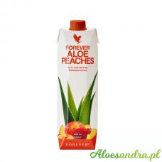 Forever Aloe Peaches - brzoskwiniowy sok aloesowy z wit. C