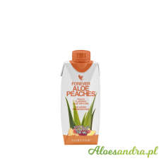 Forever Aloe Peaches Mini - brzoskwiniowy mini sok aloesowy z wit. C