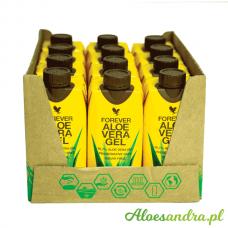 Forever Aloe Vera Gel Mini - 12 szt. mini soku z liści aloesu z wit. C