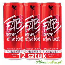 FAB Forever Active Boost - 12 szt